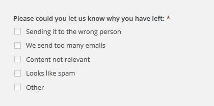 Exit Survey Questions